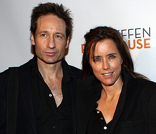 David Duchovny and wife Tea separate