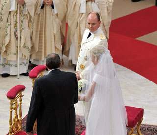 Prince Albert and Charlene wed in multicultural religious cermony