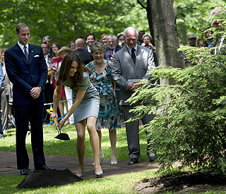 Kate and William break new ground on tour