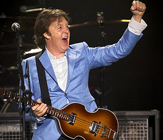 Beatles icon Paul takes home 'Best Live Act' award