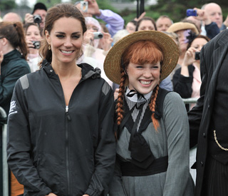 Kate meets childhood favourite Anne of Green Gables