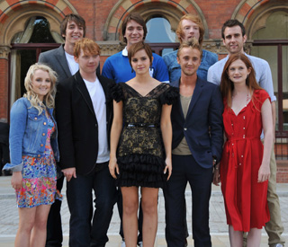 The Harry Potter cast gather for one final photocall