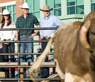William and Kate at royal rodeo to cap off Canada tour