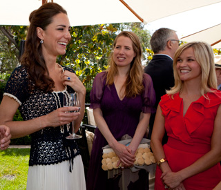 William and Kate watch 'Bridesmaids' in local multiplex