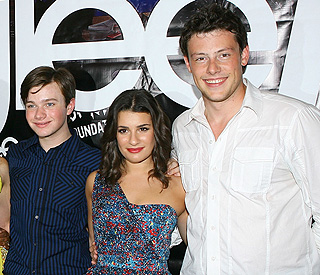 Glee's Lea, Chris and Cory to appear in next season