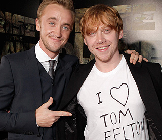 Rupert Grint declares his love for Tom Felton
