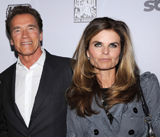 Arnold Schwarzenegger sees Maria for his birthday