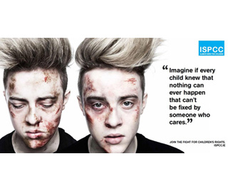 Jedward pose as bullying victims for shock campaign