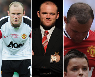 Wayne Rooney's hair transplant results finally show