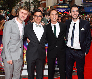 'Inbetweeners' clean up for red-carpet debut