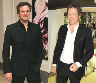 Colin Firth and Hugh Grant: Inspirational in their 50s
