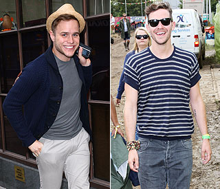 Olly Murs and Will Young set to dominate charts
