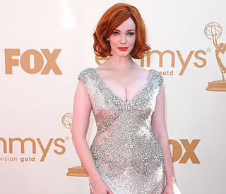 Silver siren Christina shines at star-studded Emmys