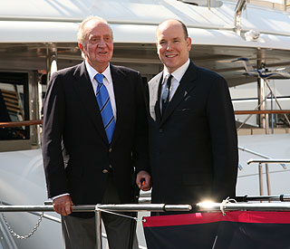 Yachtsman Juan Carlos joins Albert in Monaco