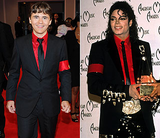 Prince Jackson dons Michael-inspired suit