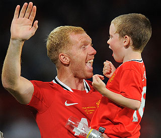 Paul Scholes hopes for 'happy life' for autistic son