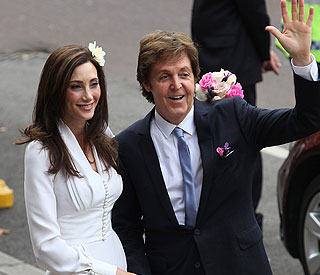 No more lonely nights for Paul McCartney as he weds