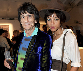 Ronnie Wood 'takes sabatical' from Brazilian love Ana