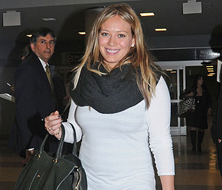It's a boy! Hilary Duff delighted to announce baby news