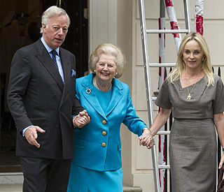 Margaret Thatcher shows true colours on 86th birthday