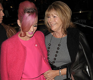 'Ghostly' theatre trip for Katy Perry and mother-in-law