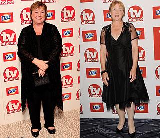 Pauline Quirke renewed vows after weight loss