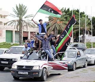 Libyan leader Muammar Gaddafi killed