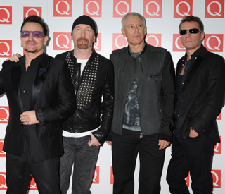 It's a 'Beautiful Day' for U2 at Q Awards