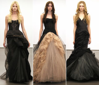 Witch dress would you wear? Vera Wang's gothic brides