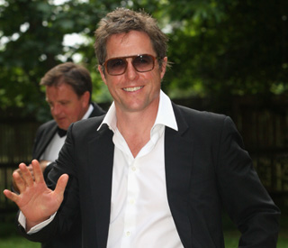 Hugh Grant becomes a father at 51