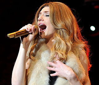 Nicola Roberts denies making a dig at Madonna