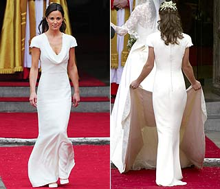 Pippa Middleton's bridesmaid dress on sale