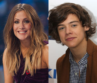 One Direction's Harry: Caroline Flack is just a friend