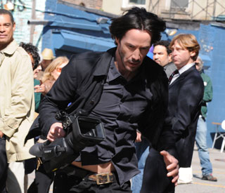 Keanu swaps speed for kung fu in directorial debut