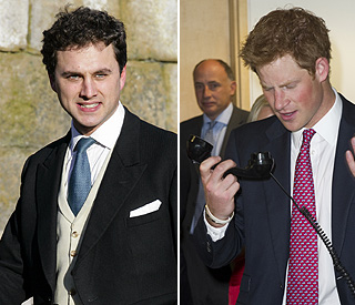 Prince Harry rushes to the aid of pal being mugged