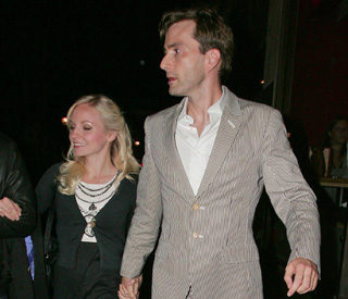 'Doctor Who' star David Tennant weds young love