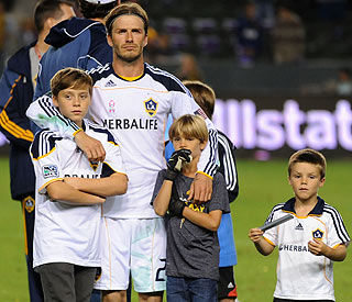 David Beckham rules out French move