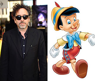 Fantasy maestro Tim Burton to make Pinocchio film
