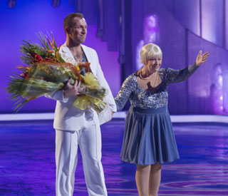 Laila Morse's graceful exit from Dancing on Ice