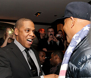 Jay-Z back on the celeb scene after Blue Ivy's birth