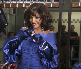 Joan Collins: 'Downton' role is 'rumour and hearsay'