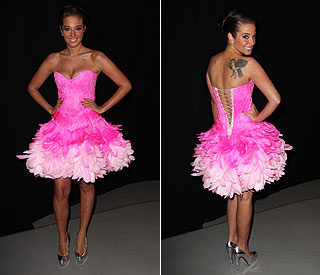 Newly single Tulisa wows on the red carpet
