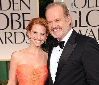 Kelsey Grammer keeps his cool ahead of twins' birth