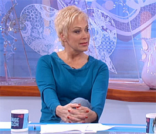 Denise Welch admits marriage is over live on TV