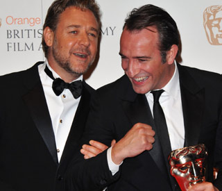39 the artist 39 sweeps the board at the baftas latest for Jean dujardin bafta