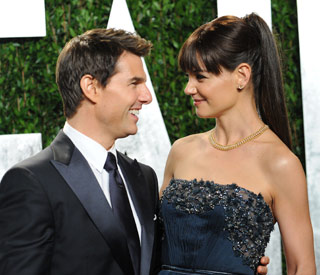 Katie Holmes and Tom Cruise feeling blue