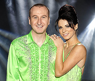 Corrie's Andy Whyment skates off Dancing on Ice