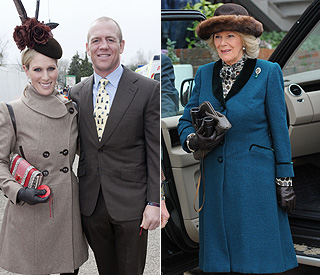 Zara Phillips still ahead in style stakes at Cheltenham
