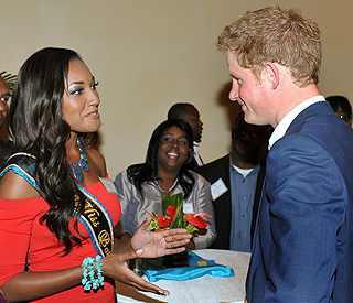 Prince Harry talks about the difficulty of finding love