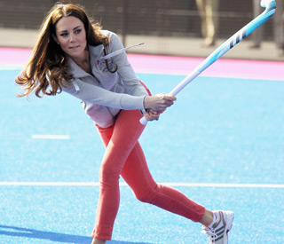 Kate scores in Olympic hockey shoot out